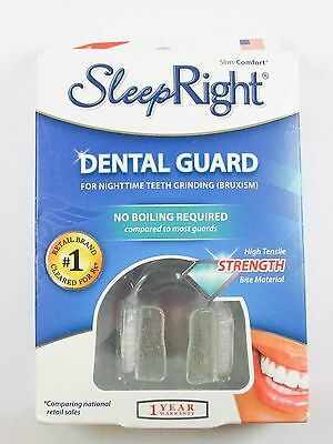 NEW Sleep Right Dental Guard with Storage Case NEW, OPEN BOX