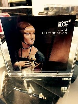 Montblanc Ludovico Sforza Duke of Milan Limited Edition Retailers Display Plaque