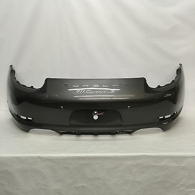 Porsche 911 Carrera S Rear Bumper 2012 2013 2014 2015 Gray Oem