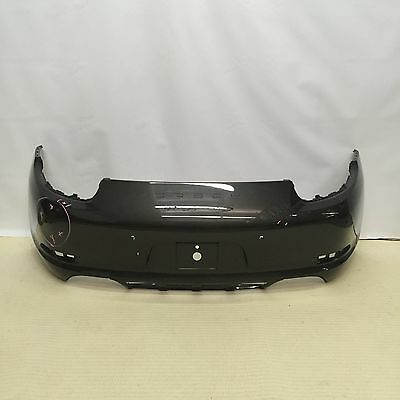 Porsche 911 Carrera S 991 Rear Bumper 2012 2013 2014 2015  Sensor Type Brown Oem