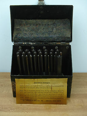 Spellmaco Transfer Punches With Case Steampunk Metal Working Tools