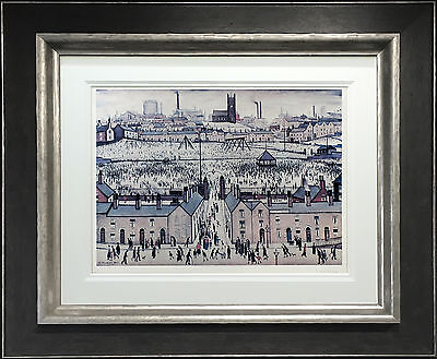L S Lowry Signed Limited Edition Print 'britain At Play' Northern Art