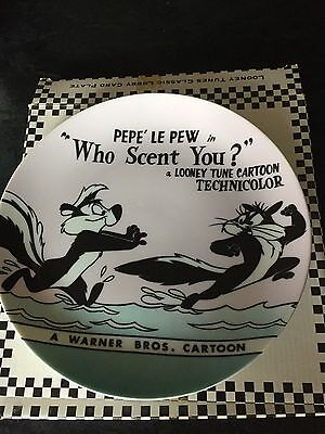 """Who Scent You Warner Brothers """"looney Tunes"""" Collector Plate"""