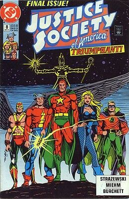 Justice Society of America #8 (Nov 1991, DC)