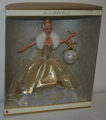 2000 Special Edition Celebration Barbie Doll Mattel Gold Gown 28269 Nib