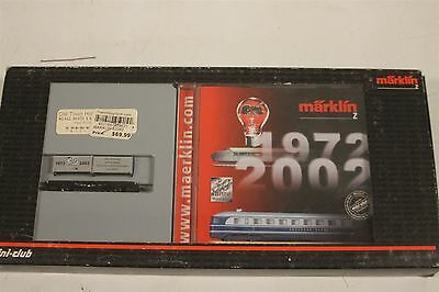 Marklin Z Scale 82362 30yrs Mini Club Container Car with CD