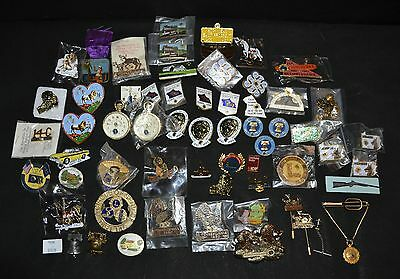 ThriftCHI ~ Lions Club Member Pins & Buttons '40's-'70's