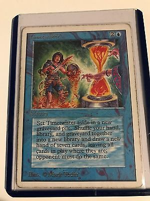 Timetwister -  Unlimited - Played - Rare Magic The Gathering Power Nine Card