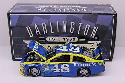 Jimmie Johnson #48 2016 Lowes Darlington Special 697 Made 1/24 New Free Shipping