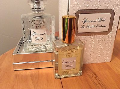 Creed Spice and Wood Sizes 5ml-130ml Guaranteed Authentic Fast Free Shipping!