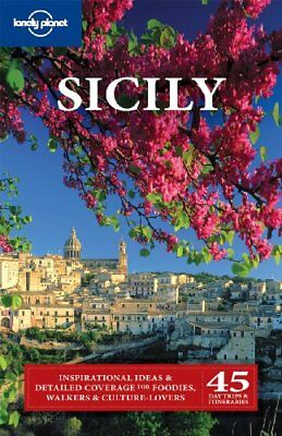 Lonely Planet Sicily (Travel Guide) by Garwood Paperback Book The Cheap Fast