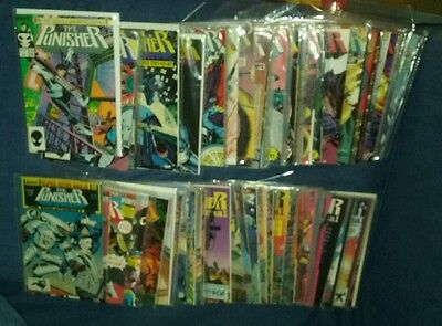Huge 110+ issue punisher marvel comics lot war journal zone tpb movie collection