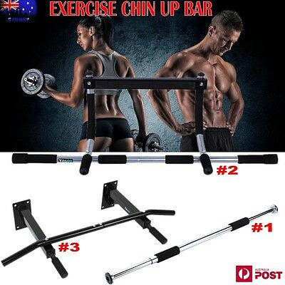 Gym Doorway Wall Fitness Portable Chin Up Bar Chin Up Pull Up Exercise Abs 3 Sty