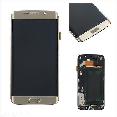 A+ For Samsung Galaxy S6 Edge SM-G925F LCD Touch Screen Glass Digitizer + Frame