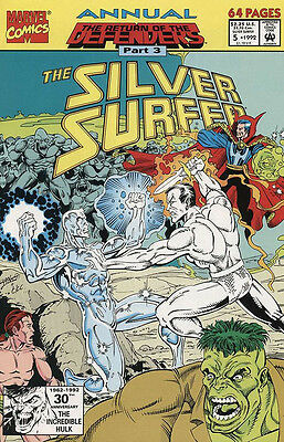 Silver Surfer Annual #5 (1992, Marvel)