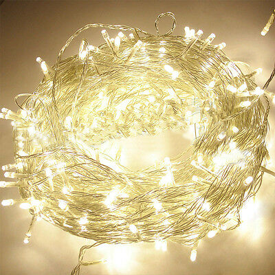 LED String Fairy Lights Indoor Outdoor Party Christmas Warm White 4 - 50 Metre