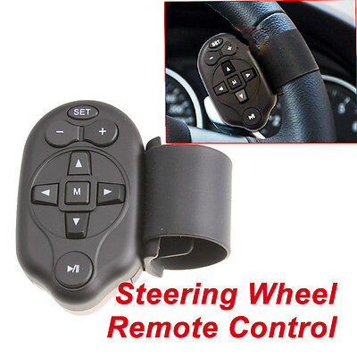 Universal Steering Wheel IR Remote Control For Car DVD Player GPS TV CD Mp3