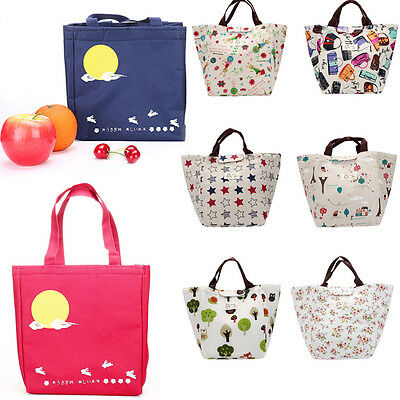 New Portable Waterproof Insulated Thermal Cooler Lunch Box Work Tote Storage Bag
