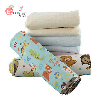 3X Baby Infant Changing Pad Cartoon Urine Mat Cotton