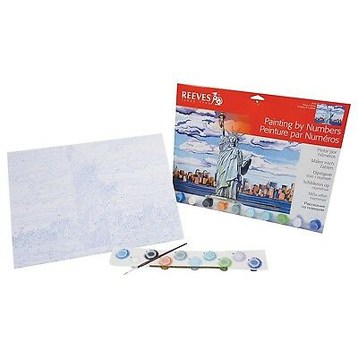 Reeves Paint by Numbers Statue of Liberty (Large) - SAME DAY DISPATCH