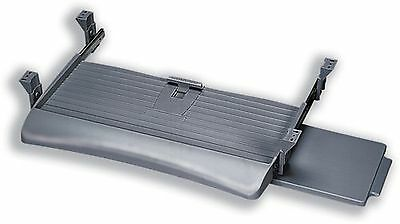 Fellowes UnderDesk Keyboard Manager - Keyboard drawer with mouse tray - platinum