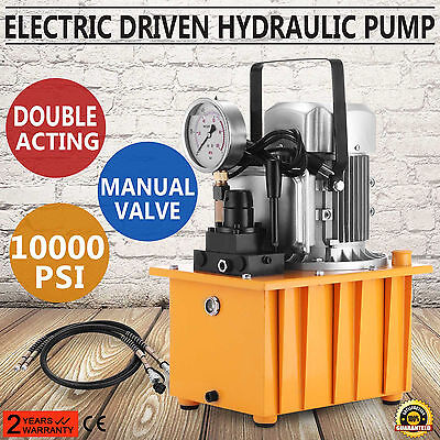 Electric Driven Hydraulic Pump 10000Psi Double Acting Long Lifespan Excellent
