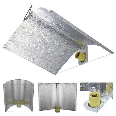 "250W 400W 600W 1000W Grow Light Hood Reflector Air Cool Adjustable 27""x18"""