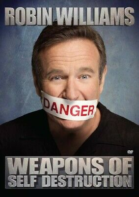 Robin Williams: Weapons of Self Destruction (2010, DVD NEW) Explicit Version