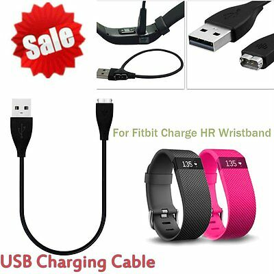 USB Charger Charging Cable For Fitbit Charge HR Wireless Activity Wristband #SW