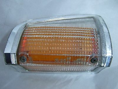 Genuine Ford Cortina Mk3 TC Front Left Indicator Lens Clear-Amber