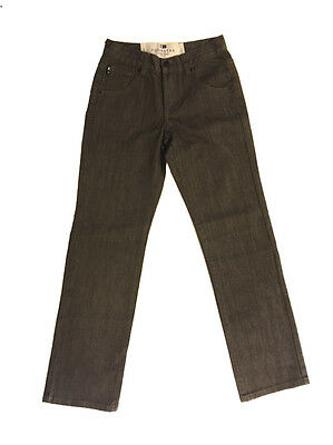 Fourstar Skateboard Clothing Boys Charcoal Jeans Denim Trousers 8-9yrs Clearance