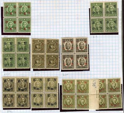CHINA MINT & USED STAMP COLLECTION ON LOOSE ALBUM PAGES INC C.E.F. (Ref: D15)