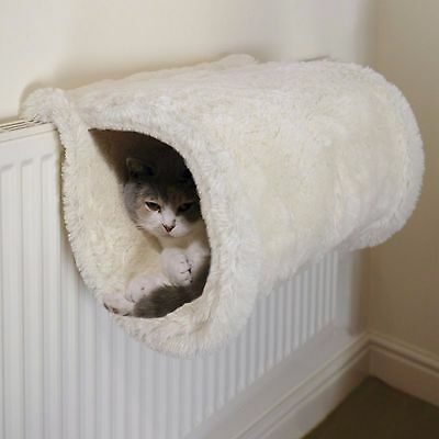 Rosewood Cat Tunnel Den Cave Pet Cats House Pets Home Igloo Bed Kitten Basket