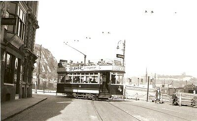 Photo of Dover Corporation Tram turning into Snargate Street 1930's