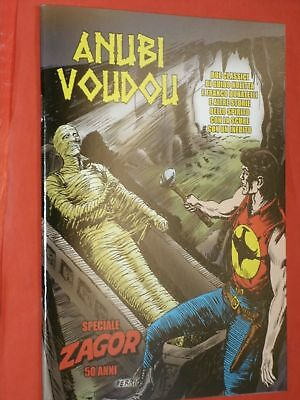 Speciale-Zagor-50 Anni-Anubi Voudou-Cartoon Club-Nuovo Mini Fumetto Inedito Raro