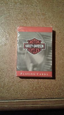 Harley Davidson Biker Playing Cards New Not Opened