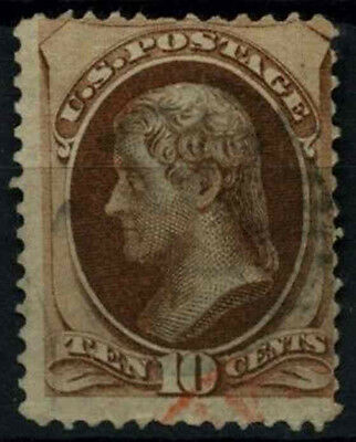 USA 1870-1882, 10c Jefferson Used #D39858