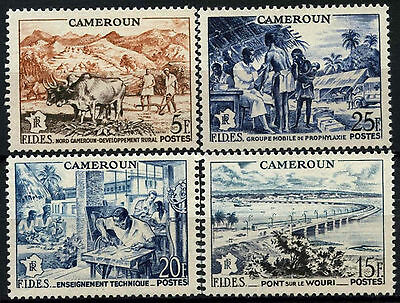 Cameroun 1956 SG#266-9 Development Funds MNH Set #D39681