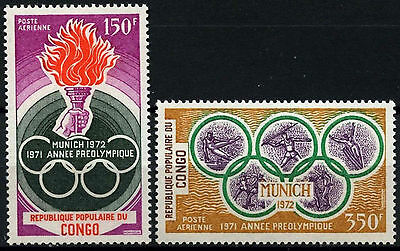 Congo 1971 SG#304-5 Olympic Games MNH Set #D39690
