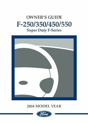 2002 ford f250 f550 f super duty truck owners manual user guide rh picclick co uk 2002 ford f250 service manual download 2002 ford f250 owners manual