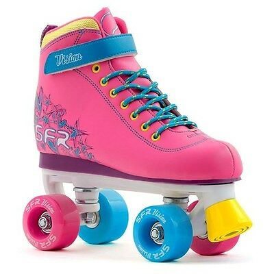 Childrens Rollerskates. Girls Rollerskates. SFR Vision II Kids Skates - Tropical