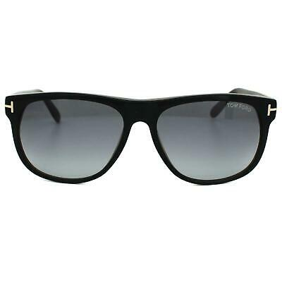 793e7ae36d Tom Ford Sunglasses 0236 Olivier 05B Black   Brown Smoke Grey Gradient