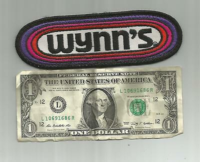 Vintage Wynns Racing Team Oil Additives Patch Company 6 1/8 Inches Wide Nice!!!
