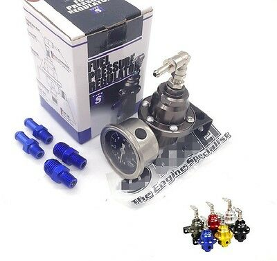 regolatore pressione benzina 8 mm + manometro  ford focus rs st fiesta turbo rs