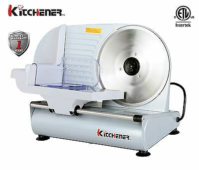 KITCHENER 9 inch Professional Electric Meat Deli Cheese Food Slicer Heavy Duty