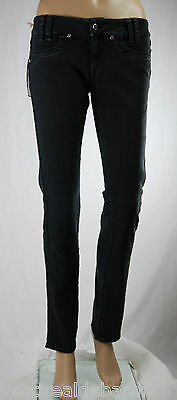 Jeans Donna Pantaloni MET Slim Fit Made in Italy Woman Trousers C377 Tg 27