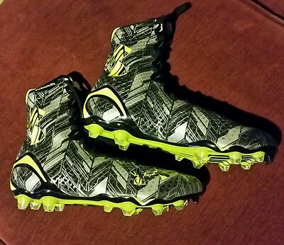 NEW $130 UNDER ARMOUR UA HIGHLIGHT MC football LACROSSE cleats Size 9