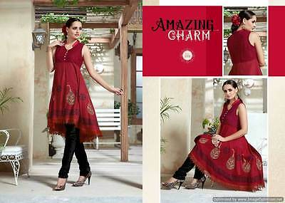 Fully Stiched Kurti dress Indian Designer Bollywood Wear, All Indian Sizes