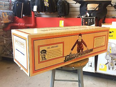 MIB New Lionel Standard Gauge Super 381 Engine #11-2016-1 Orange and Maroon, Tin