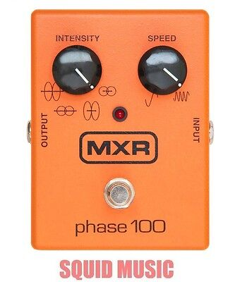 MXR M107 Phase 100 Effects Pedal 10 Stages Of Programmable Phase ( OPEN BOX )
